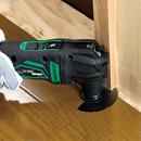 仕上げ材の切断(床材納め)