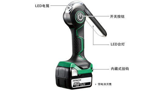 14.4V and 18V Cordless Worklight UB18DJL